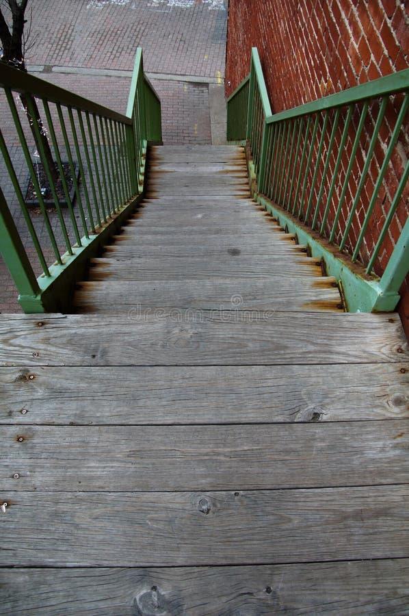 Rustic Stairway royalty free stock photos