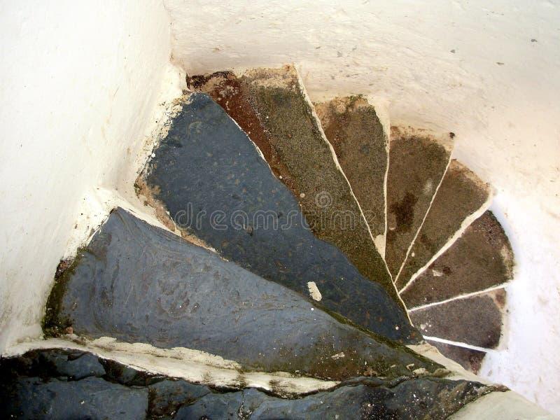 Rustic steps I stock photo