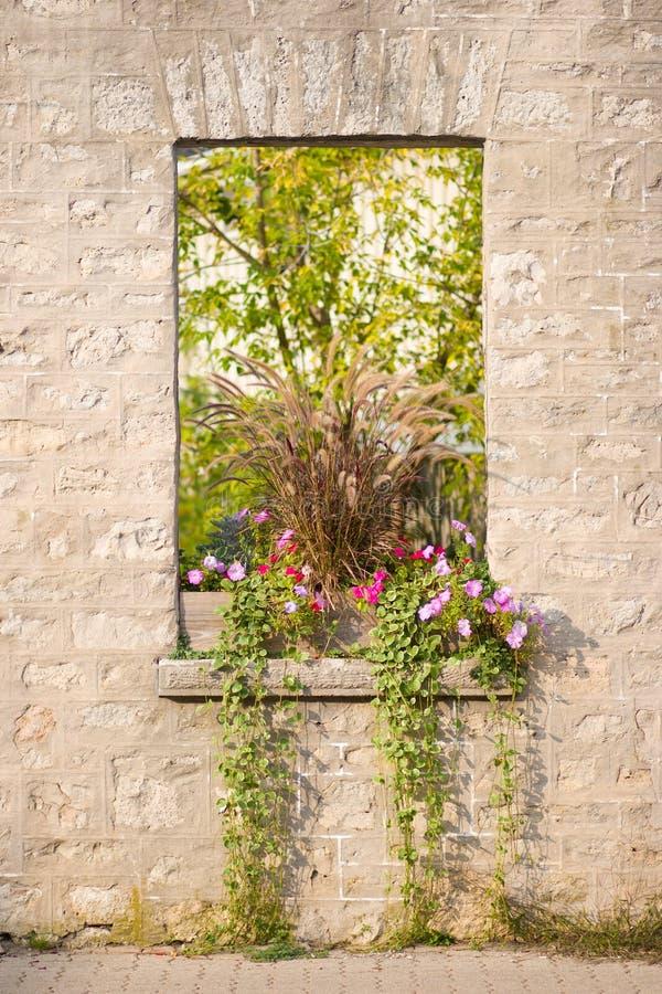 Rustic Stone Window