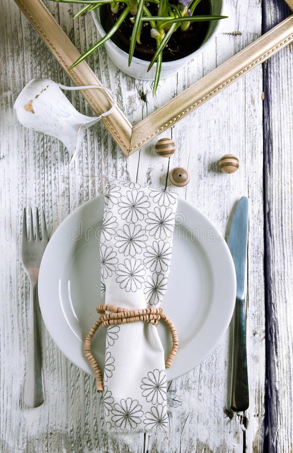 Free Rustic Table Setting Stock Photos - 23953513