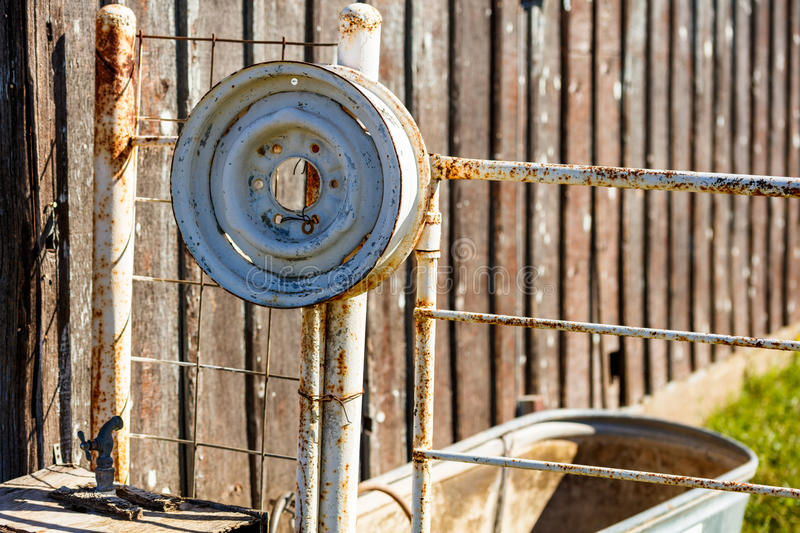 Rustic Texas Ranch royalty free stock photography