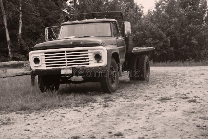 Rustic truck stock photo