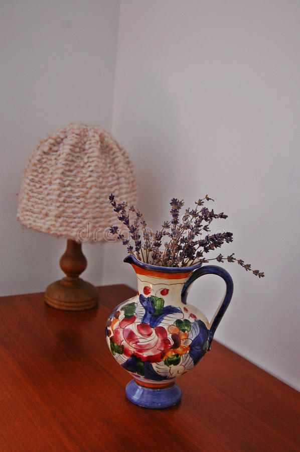 Rustic vase stock photos