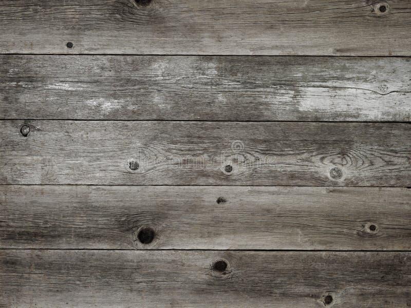 Rustic warm grey weathered barn wood board background stock photography