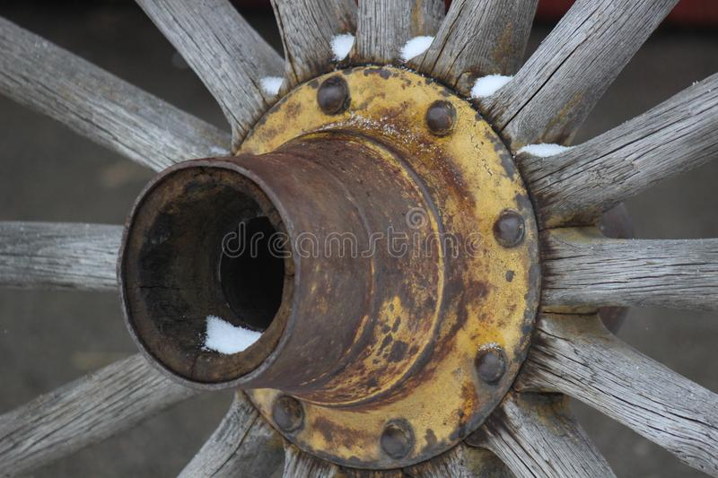 Rustic weathered primitive wagon wheel stock images