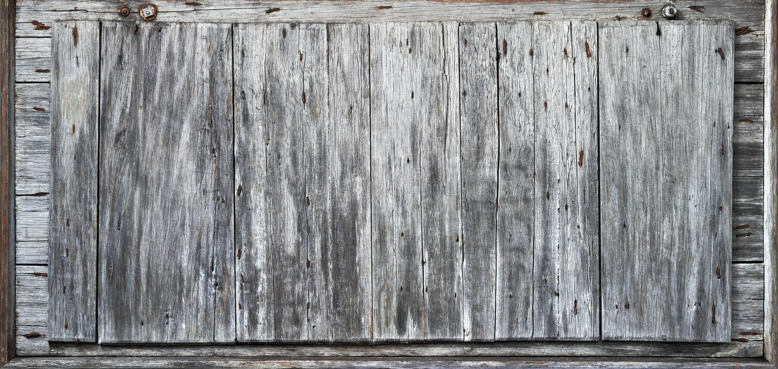 Download Rustic Wood Background Banner Stock Image