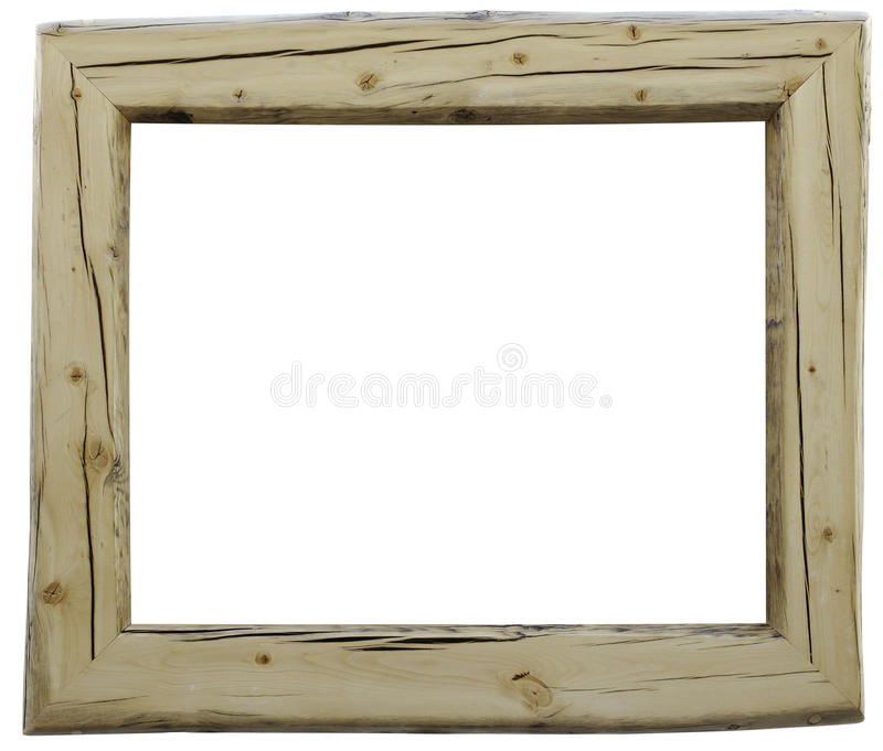 Ordinaire Download Rustic Wood Frame Stock Photo. Image Of Fashioned, Isolated    21818026