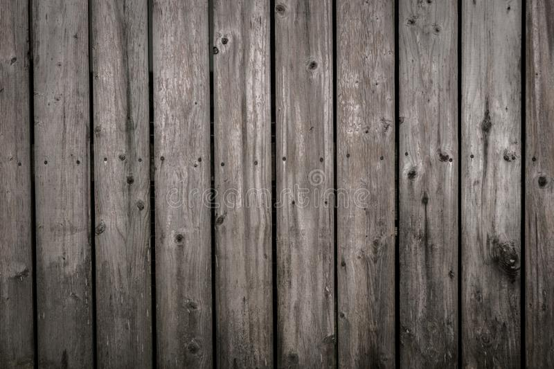 Rustic wooden grey fence background stock photos
