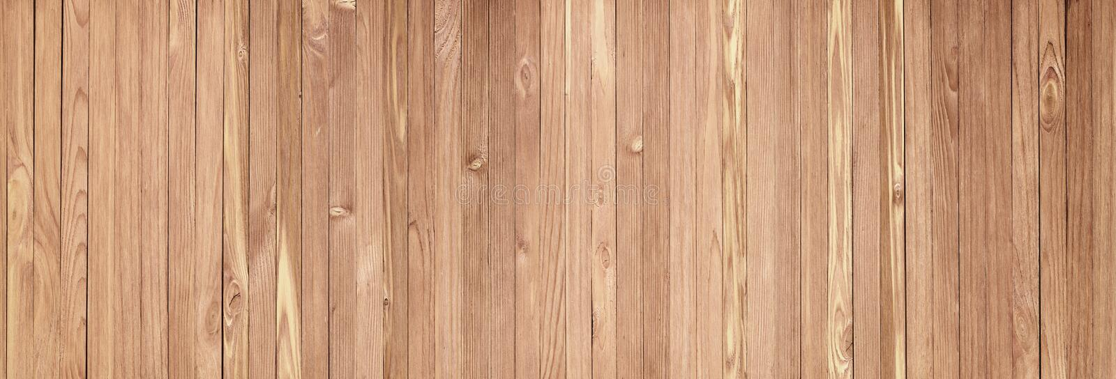 Rustic Wooden Table Background Top View. Light Wood