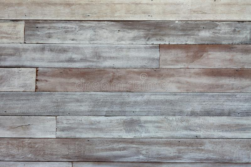 Rustic wooden textured with faded white paint for retro and vintage background design royalty free stock images