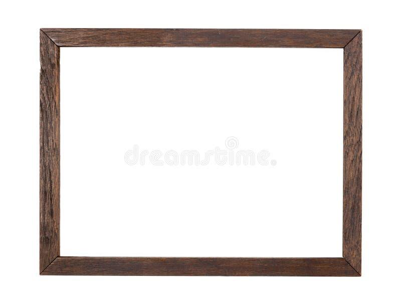 Rustiek Houten frame stock afbeelding