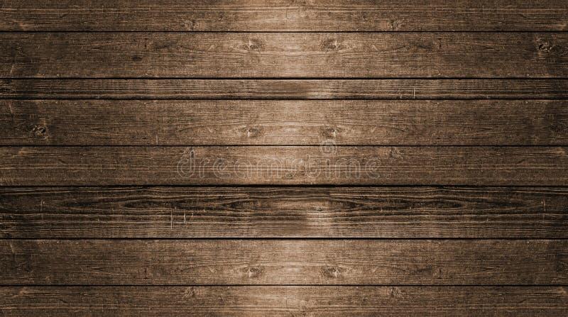 Rustieke houten planken 3d illustratie als achtergrond vector illustratie