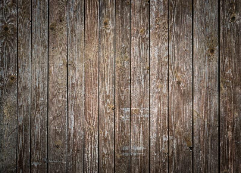 Rustieke houten plankenachtergrond met aardige vignetting royalty-vrije stock afbeeldingen
