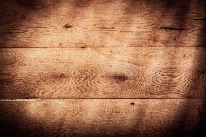 Rustieke houten textuur als achtergrond met vignet royalty-vrije stock fotografie