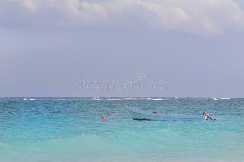 Rustig Caraïbisch Strand stock afbeeldingen