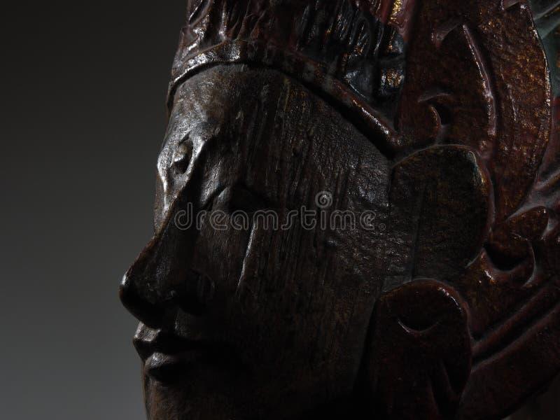 Rustig het gezichtsprofiel van Boedha royalty-vrije stock foto's