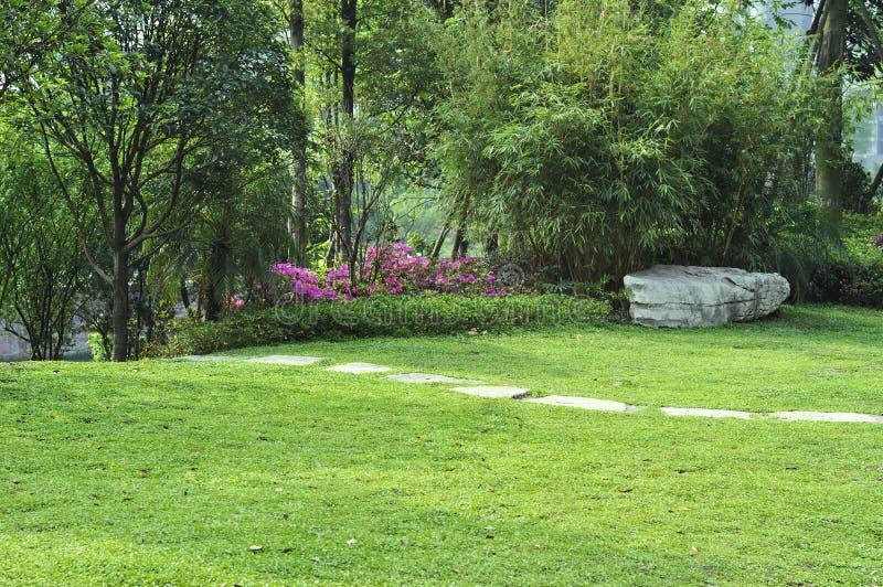 Rustige tuin stock afbeelding