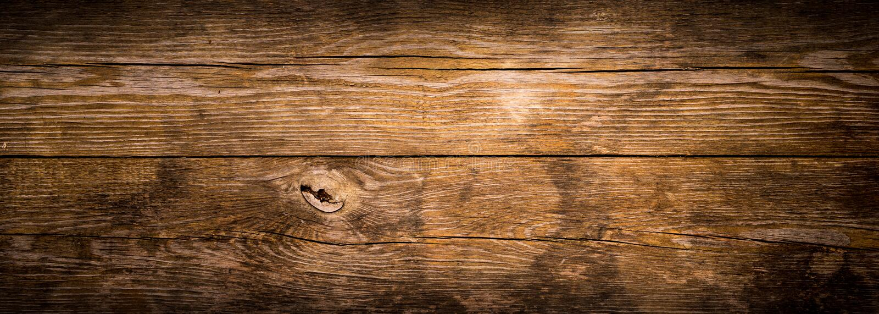 Rustikale hölzerne Planken
