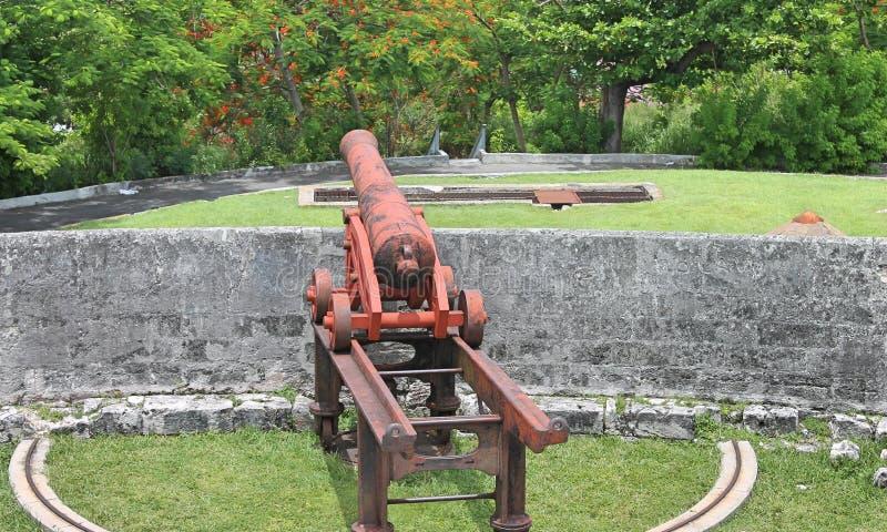 Rustikale Kanone lizenzfreies stockfoto
