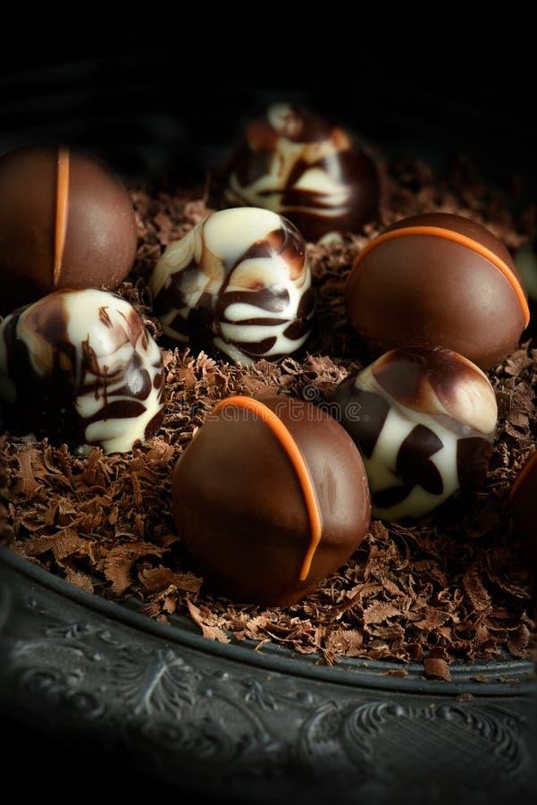 Rustikale Schokoladen II stockfotos