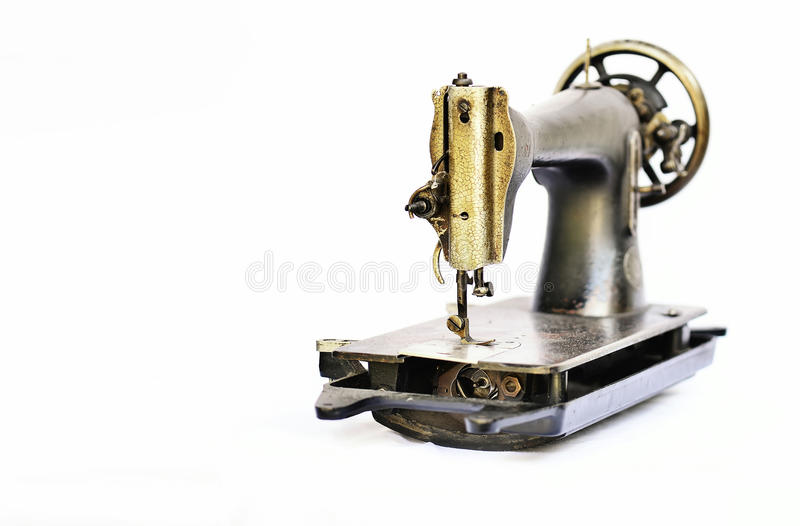 Rustikale seving Maschine stockfotografie