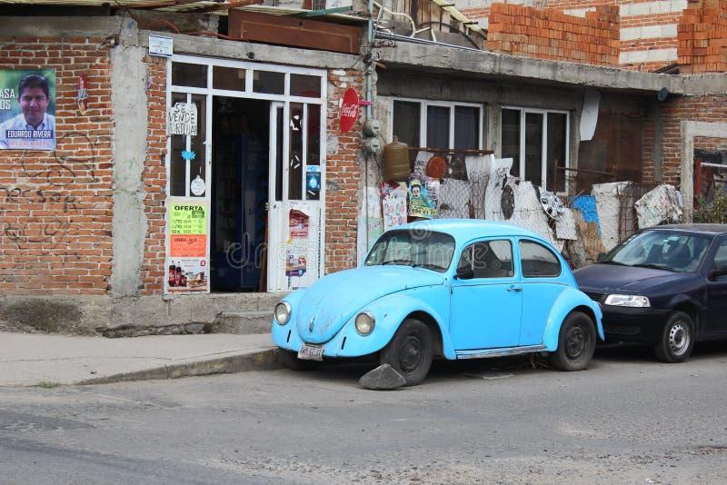 Rustikale Szene Pueblas, Mexiko stockbilder