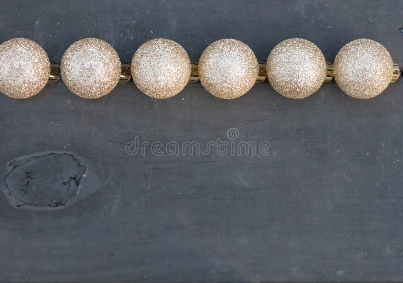 Rustikaler glittery einfacher festlicher Hintergrund lizenzfreies stockbild