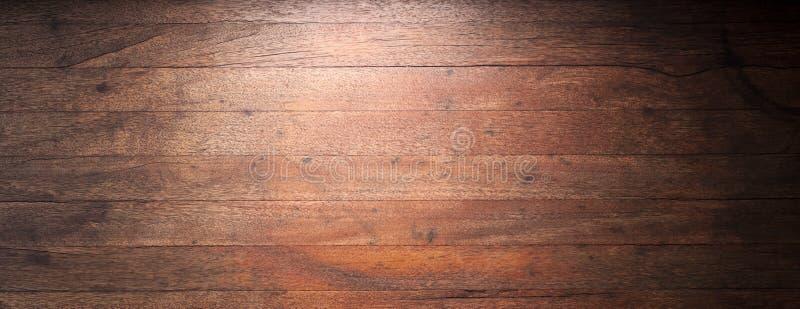 Rustikaler hölzerner Fahnen-Hintergrund lizenzfreie stockfotografie