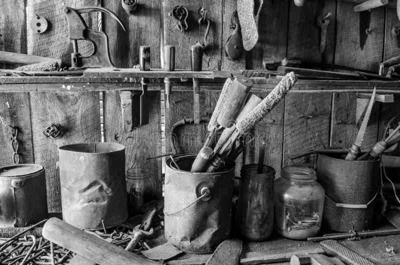 Rustikaler Shop stockfotos