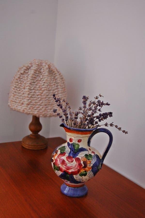 Rustikaler Vase stockfotos