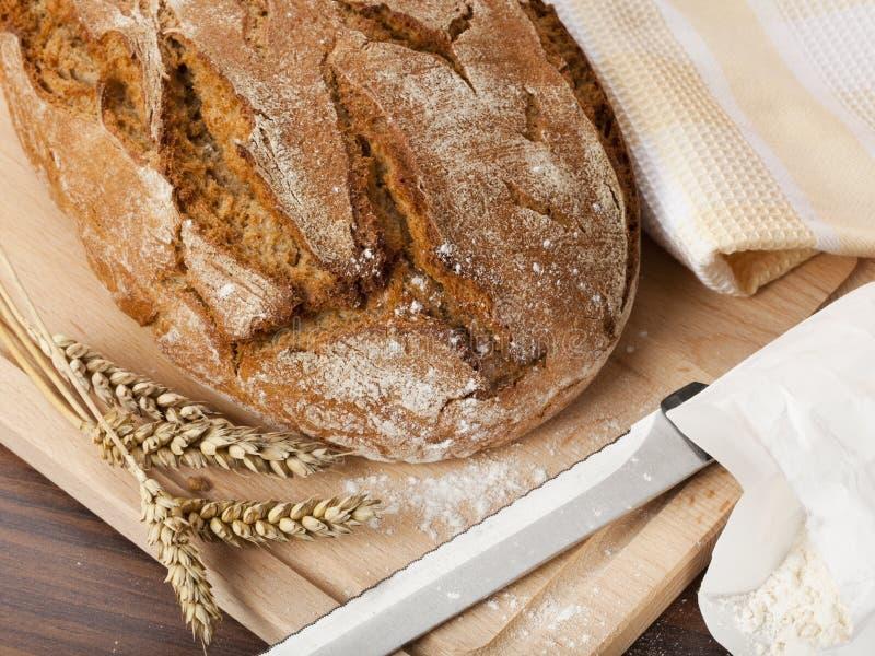 Rustikales Brot lizenzfreie stockfotos