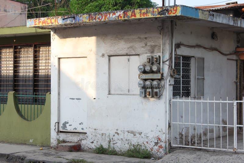 Rustikales mexikanisches Gebäude lizenzfreie stockfotos