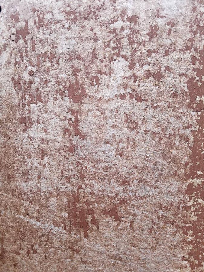 Rusting aan het oppervlak van het oude ijzer, verslechtering van het staal, achteruitgang en slijpstuk Textuur achtergrond stock fotografie