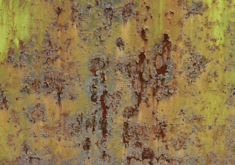 Rusting Metal Grunge Texture Stock Photography