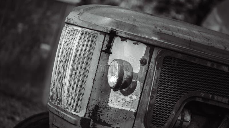 Rusty Abandoned Forgotten Cars anziano fotografie stock libere da diritti