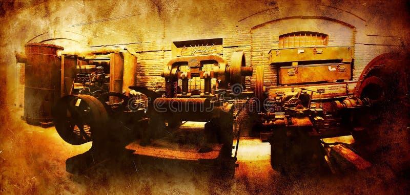 Vintage industry stock photo