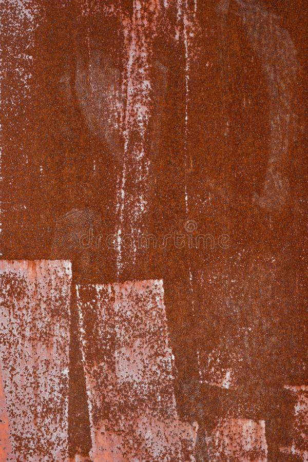 Rusty and aged metal texture , grungy surface. royalty free stock photography