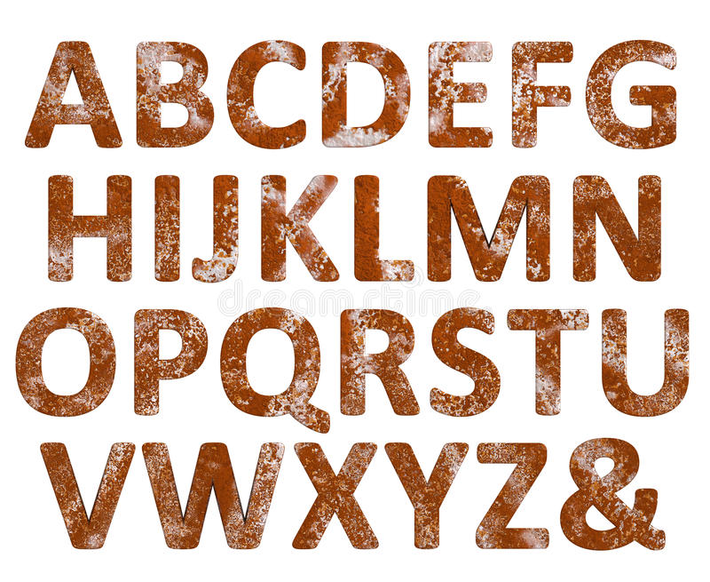 Rust english alphabet set isolated stock photo illustration of download rust english alphabet set isolated stock photo illustration of decay alphabet 54787360 thecheapjerseys Choice Image