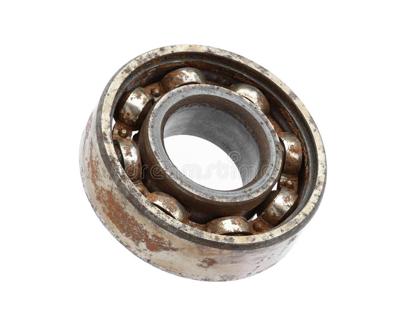 Download Rusty ball bearing stock image. Image of iron, background - 33406461