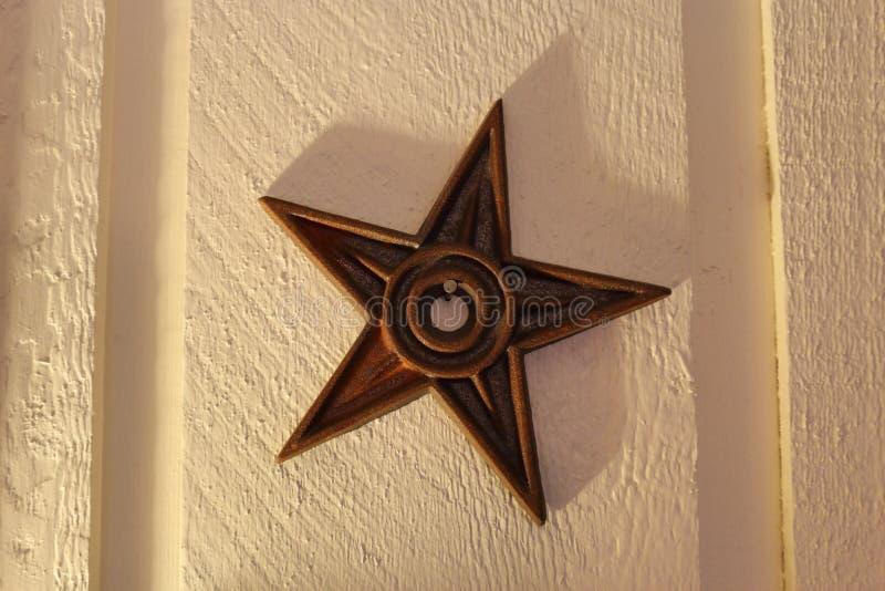 Rusty Barn Star immagini stock libere da diritti