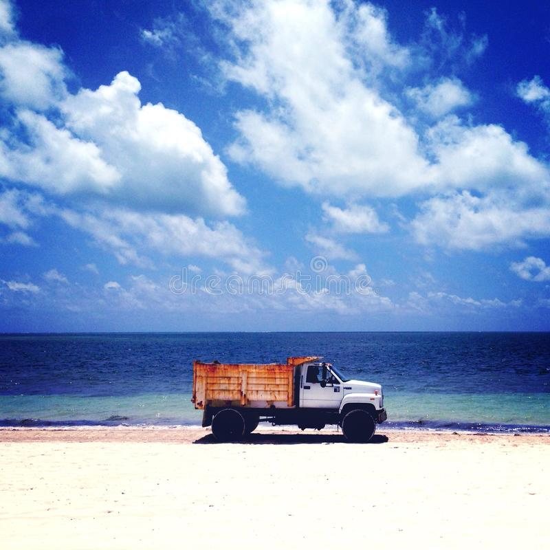 Rusty Beach stock fotografie