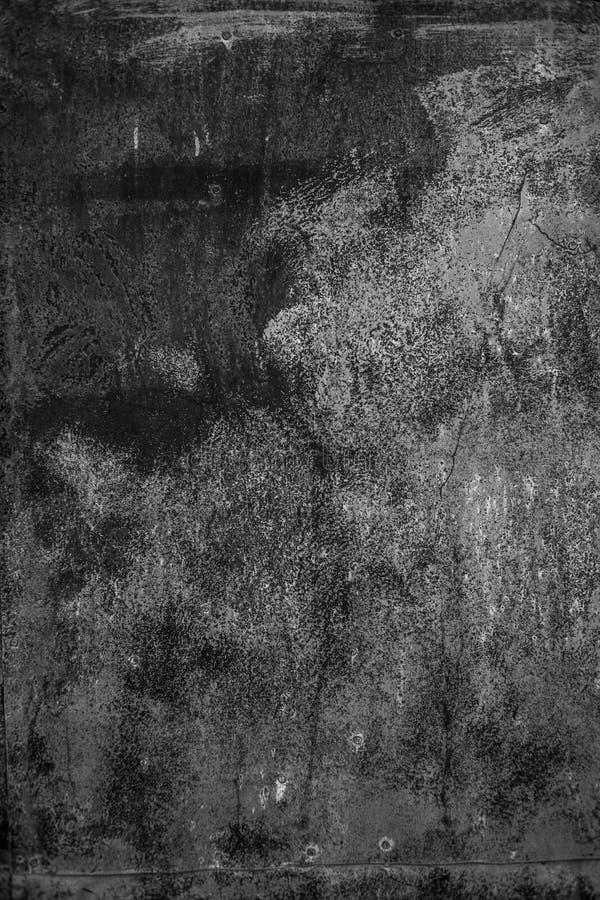 Rusty Black color Designed grunge texture and grunge background. stock illustration