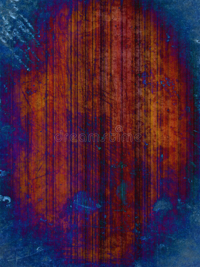 Rusty blue grunge background stock images