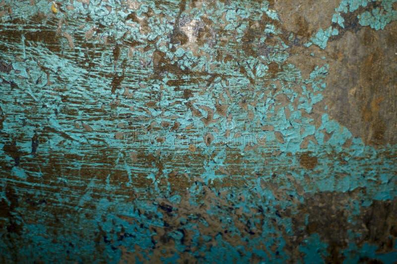 Rusty Blue Metal photos libres de droits