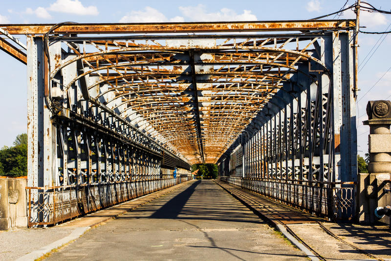 Rusty Bridge royalty free stock photos