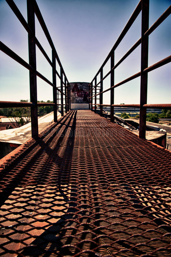 Download Rusty Bridge stock image. Image of dark, building, abandoned - 32310067