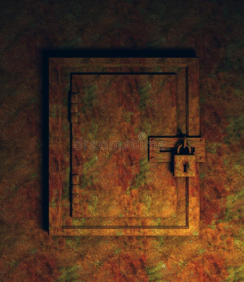 Free Rusty Cabinet Royalty Free Stock Photos - 21562628