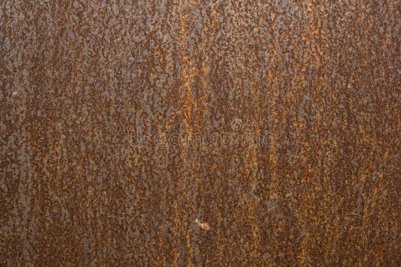 Rusty carbon steel plate in factory, background. In Thailand royalty free stock photos