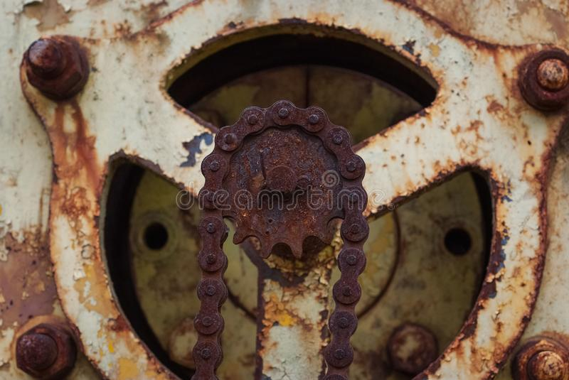Rusty Chain 3633 image stock