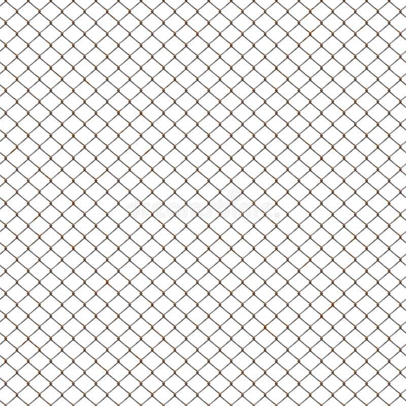 Rusty chicken mesh stock illustration. Illustration of barrier - 9703450